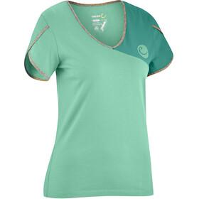 Edelrid Tulip Naiset Lyhythihainen paita , vihreä
